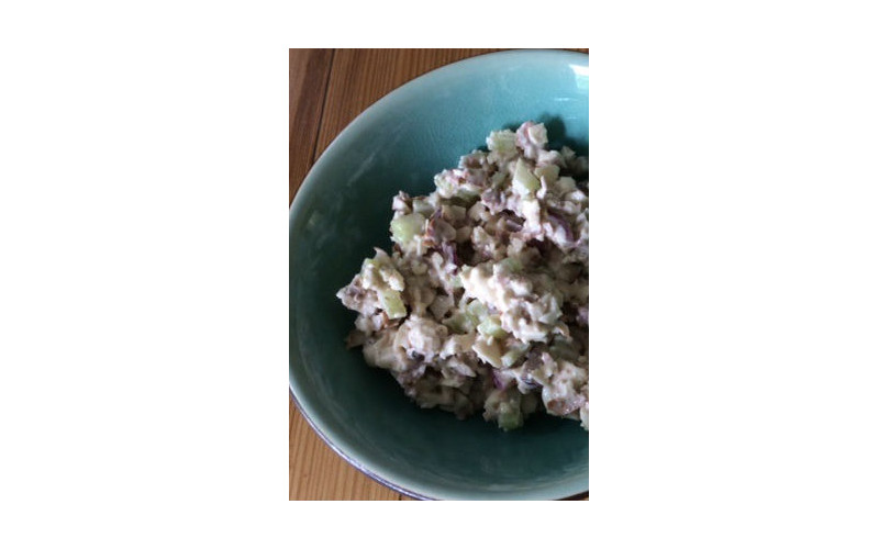 Creamy Almond Mock Tuna Salad