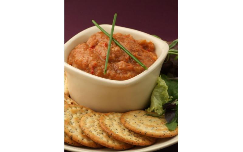 Smoky Aubergine & Pepper Dip