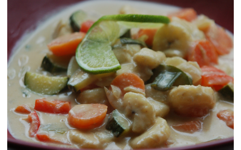 Banana and Coconut Curry
