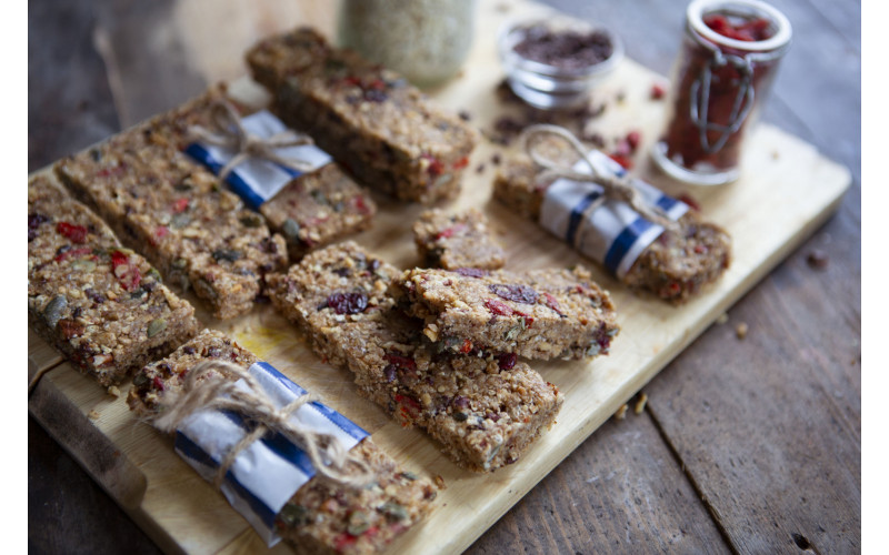 Fast & Healthy Cereal Bars