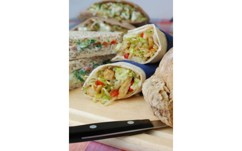 Chinese-style Wraps