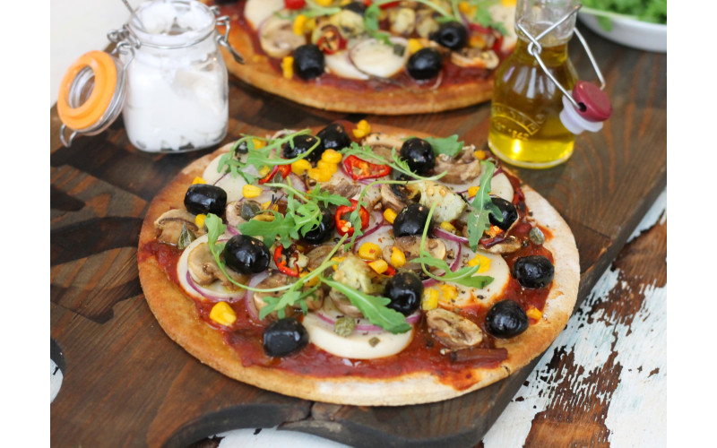 Easy Vegan Pizza