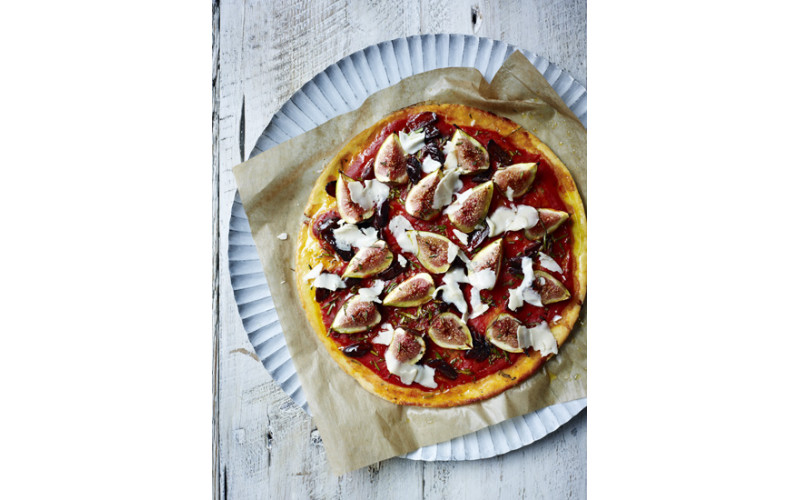Fig, Rosemary & Olive Pizza (Gluten-free)
