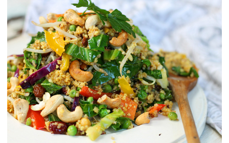 Middle-Eastern Nutty Millet Pilaf