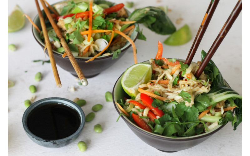 Easy Pad Thai, Supermarket-style