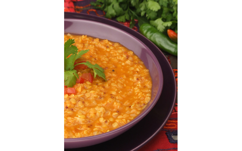 Quick Lentil & Tomato Dahl for Caterers