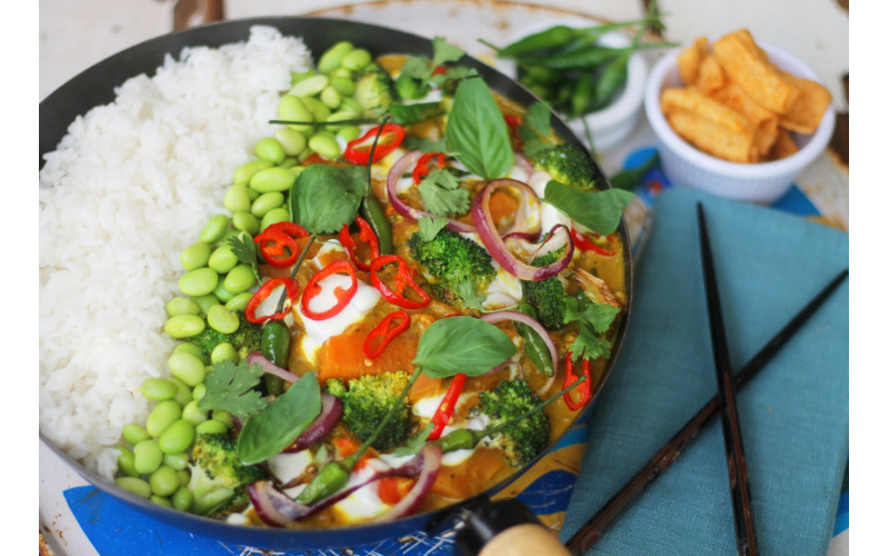 Quick Thai Yellow Curry with Carrot