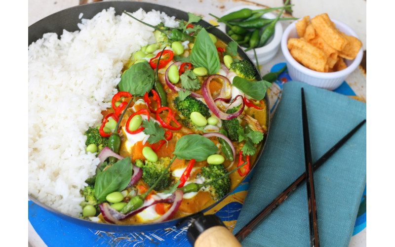 Thai Yellow Curry, Convenience-style
