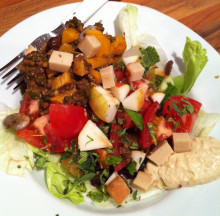 Cooking with Vegusto Products: No Muh Piquant - Dairy Free Cheese