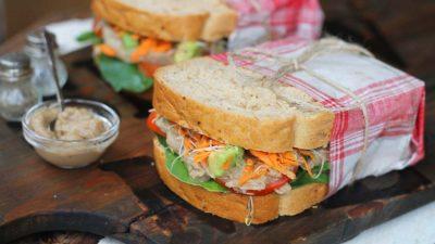 Veggie Paté Sandwiches