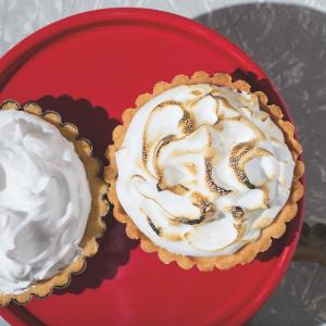 Vegan Cherry Meringue Pie