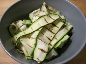 5:2 Fast Diet - Griddled Courgettes with Lemon