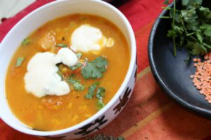 5:2 Fast Day - Spiced Tomato Dahl
