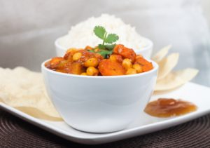 Mellow Coconut Curry with Vegetables & Chickpeas
