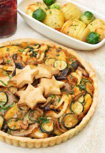 Mediterranean Wild Mushroom Pie