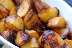 Roast Potatoes (with or without Marmite)