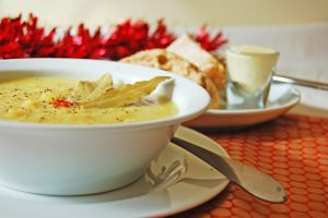 Parsnip & Apple Soup
