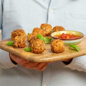 Vegan Arancini Balls