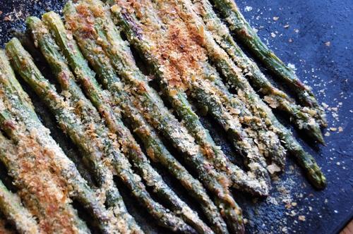 Asparagus Gratinee