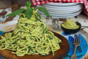 Low-fat Pesto