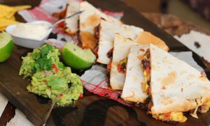 Quick & Easy Breakfast Quesadilla with Avocado