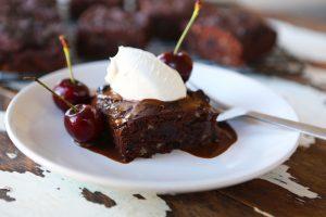 Cherry & Almond Chocolate Brownies
