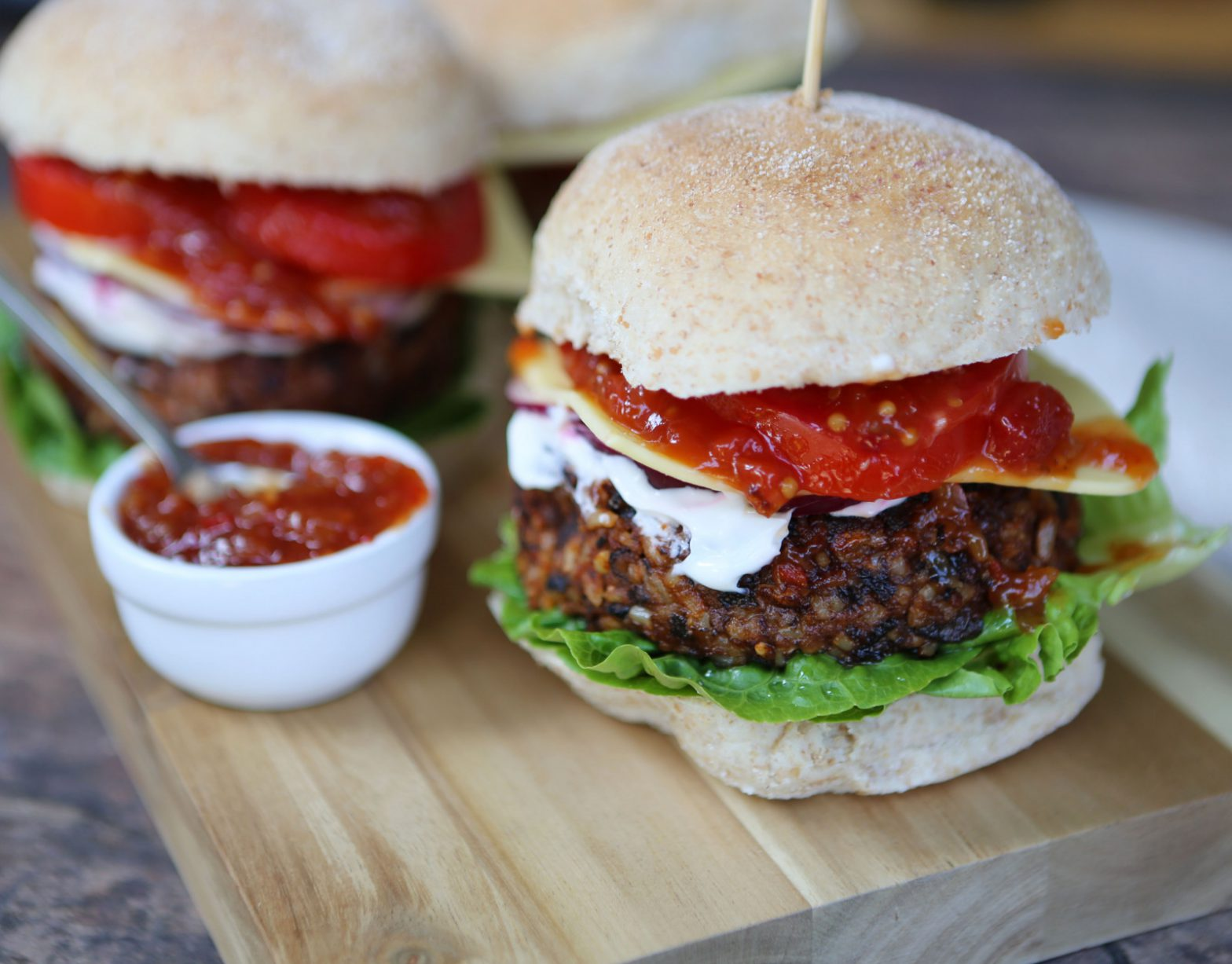 Fast & Healthy Burgers