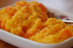Carrot & Butternut Squash Mash