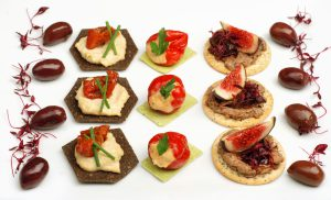 A Trio of Canapes