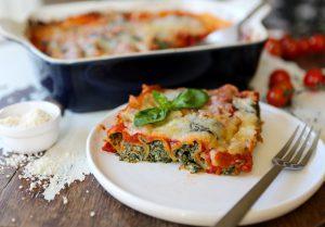 Spinach & 'Ricotta' Cannelloni
