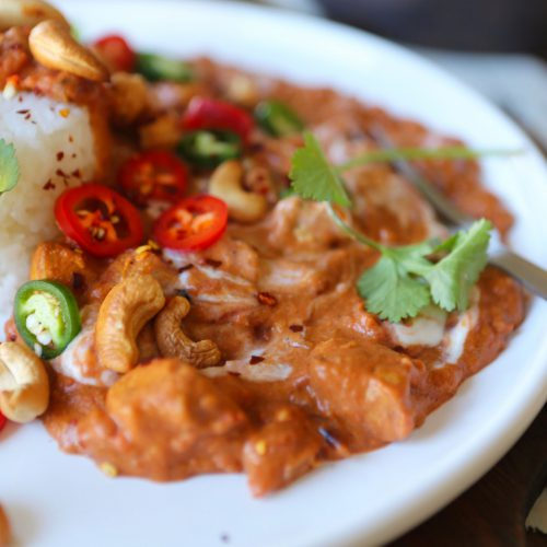 Creamy Cashew & Tofu Curry