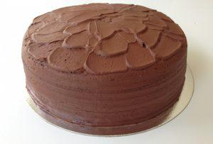Double Layered Chocolate Cake