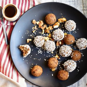 Coffee & Walnut Cake Energy Balls