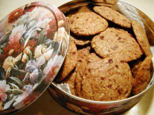 Oaty Orange & Date Cookies