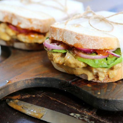 Coronation 'Chicken' Sandwich