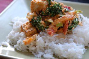Creamy Carrot Sauce Oriental