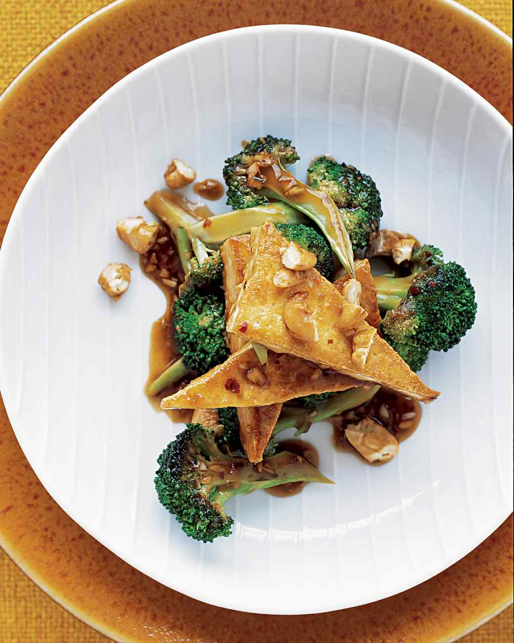 5:2 Fast Day Smoked Tofu with Broccoli & Teriyaki Sauce