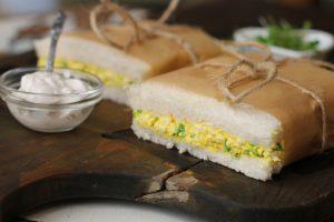 Tofu Egg Mayonnaise Sandwiches
