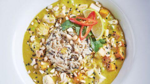 Roasted Tofu & Sweet Potato Rendang Curry