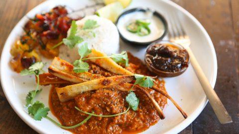 Roast Parsnip & Cashew Curry