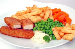 Fishless Fish and Chips with Tartare Sauce