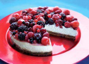 Fruity Dairy-free Cheesecake