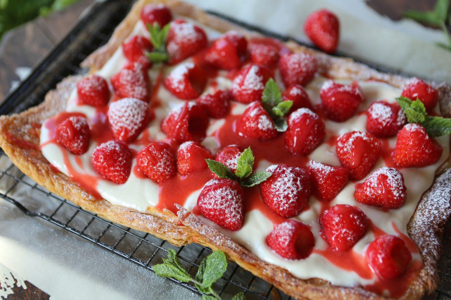 Easy Strawberry Galette