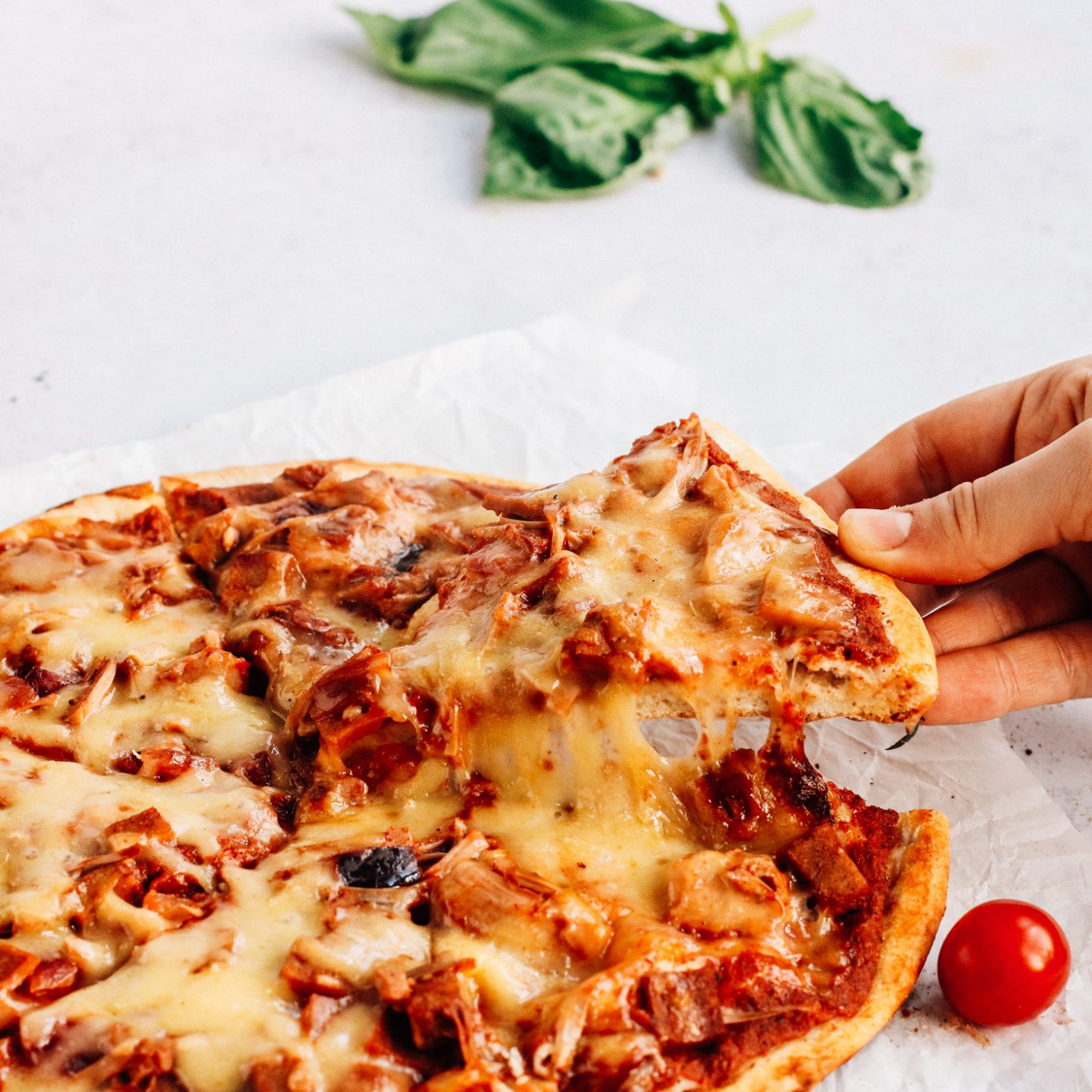The Meatless Feast Pizza