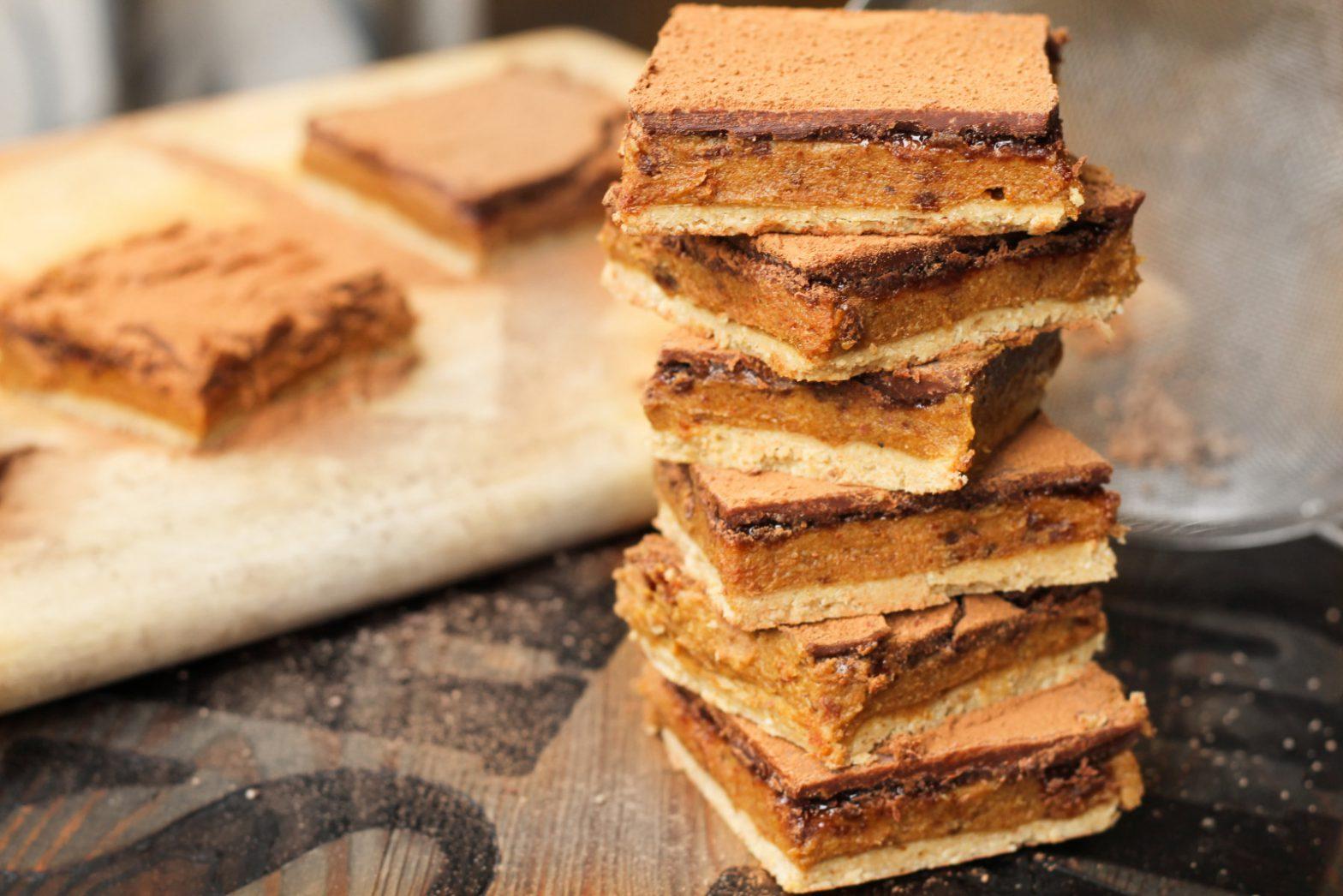 No-bake Millionaire's Shortbread