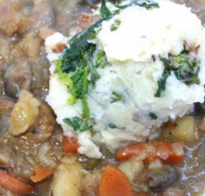 Colcannon Irish-style Mashed Potato