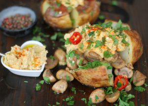 Baked Potato with assorted fillings
