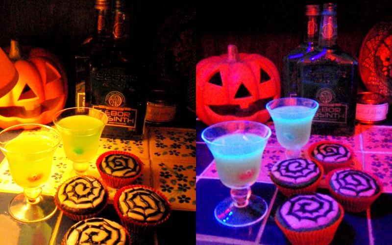 Glow In The Dark Tequila Jelly