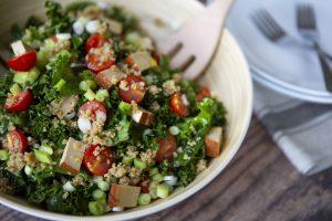 5 Minute Kale Salad