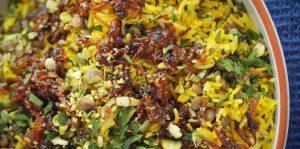 Moudardara: Lebanese Rice & Lentils